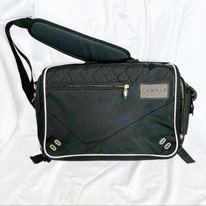 Ogio black corporate city corp messenger briefcase